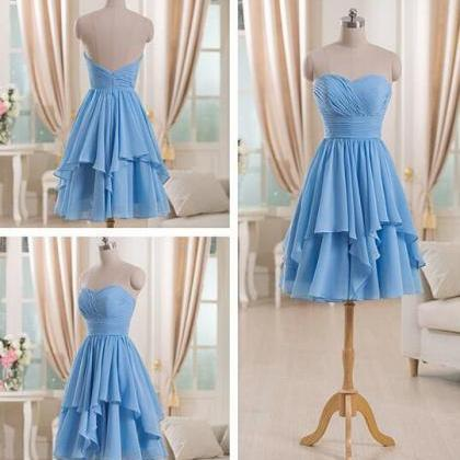 Sweetheart High Low Short Bridesmai..