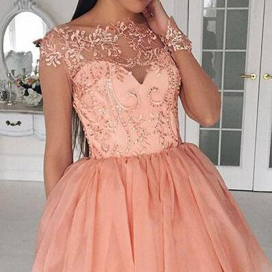 Cute Homecoming Dresses,A-Line Home..
