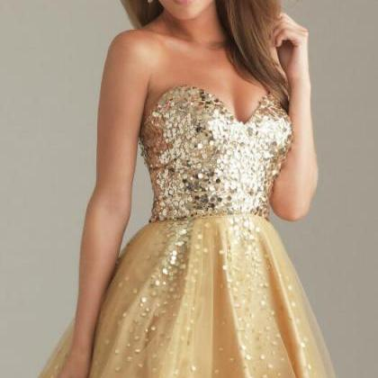 Short Homecoming Dresses,Tulle Home..