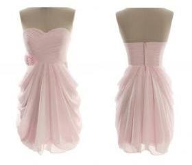 Pink Short Bridesmai..