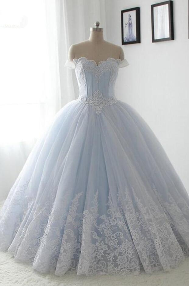 0ebc20f950f Light Blue Quinceanera Dresses