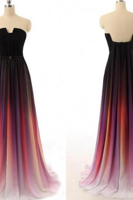 Amazing Prom Dress,Sexy Long Prom Dresses,Chiffon Prom Gown,Sexy Chiffon Evening Dress,Formal Evening Gowns