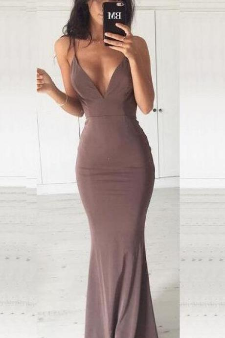 Charming Prom Dresses,Simple Cheap Prom Dress,Mermaid Prom Dresses, Spaghetti Straps Prom Dresses, Sexy Evening Dresses, Prom Dress