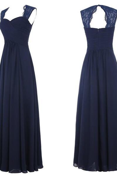 Lace Bridesmaid Dresses, Off the Shoulder Long Bridesmaid Dresses,Navy Blue Bridesmaid Dresses ,Open Back Bridesmaid Dresses,Simple Bridesmaid Gowns,Long Prom Dresses, Graduation Dresses,Formal Women Dresses