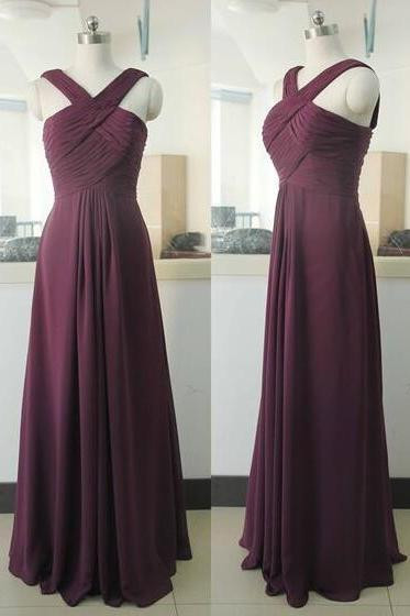 Simple Prom Dress,Cheap Prom Dress,Simple Prom Dress,Sleeveless Evening Dress,Chiffon Prom Dress,Prom Dresses for Women
