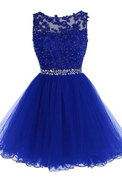 Lace Homecoming Dress,Beading prom Dress,Tulle Homecoming Dress,Fitted Homecoming Dress,Short Prom Dress,Homecoming Gowns,Cute Sweet 16 Dress For Teens