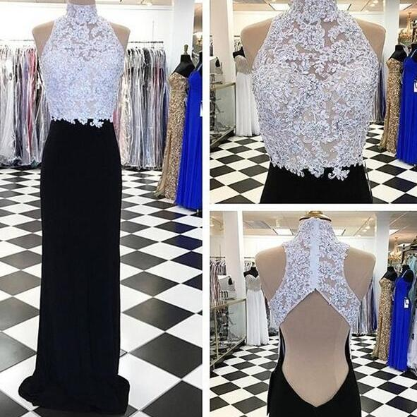Lace Prom Dress,Cheap Prom Dress,Sexy Prom Dresses,Sleeveless Prom Dress with Appliques and Lace ,Mermaid Open Back Evening Dress,Formal Gown